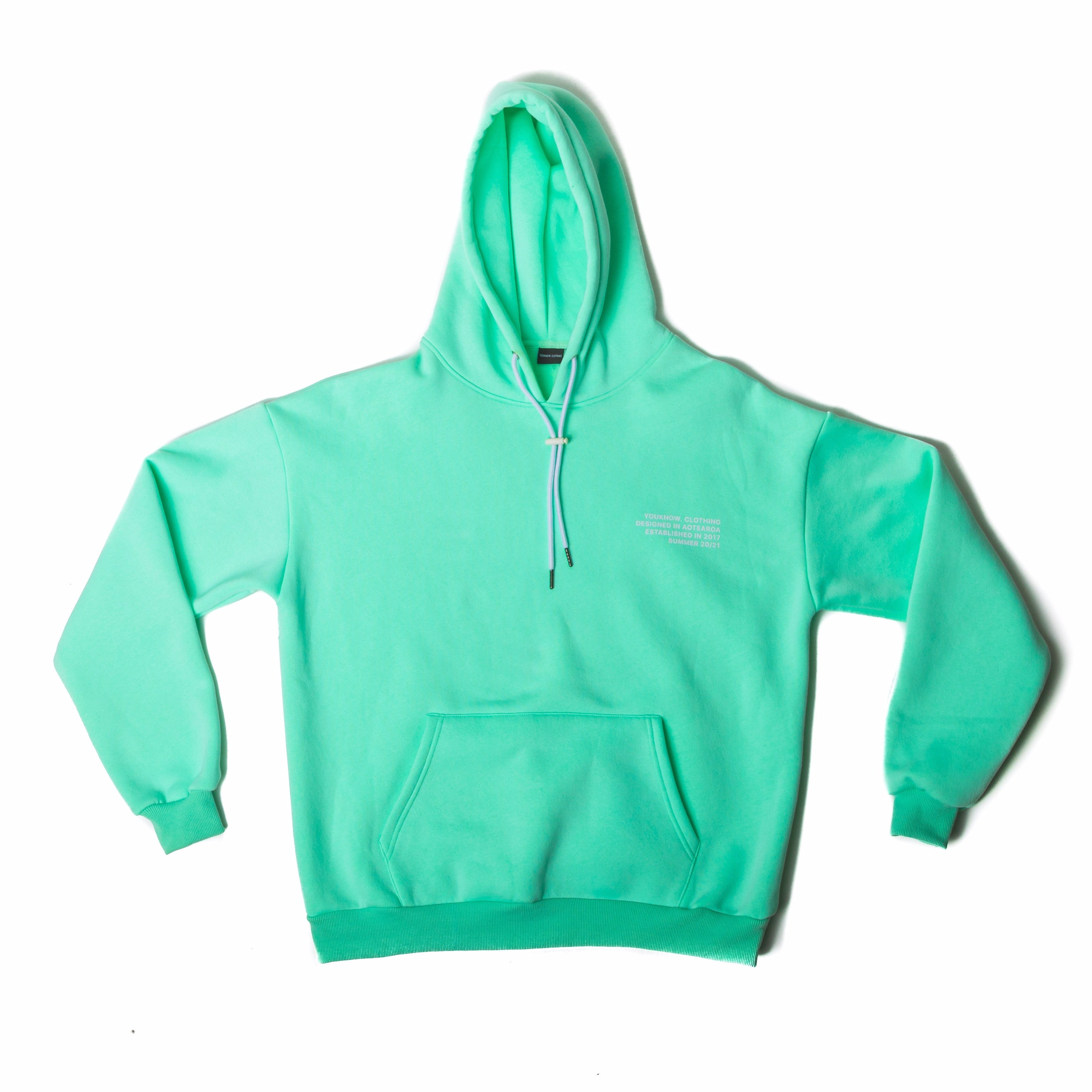 COSYSZN - Mint Green Hoodie
