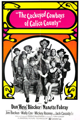 Cockeyed Cowboys of Calico County Dvd (1970)Rarefliks.com