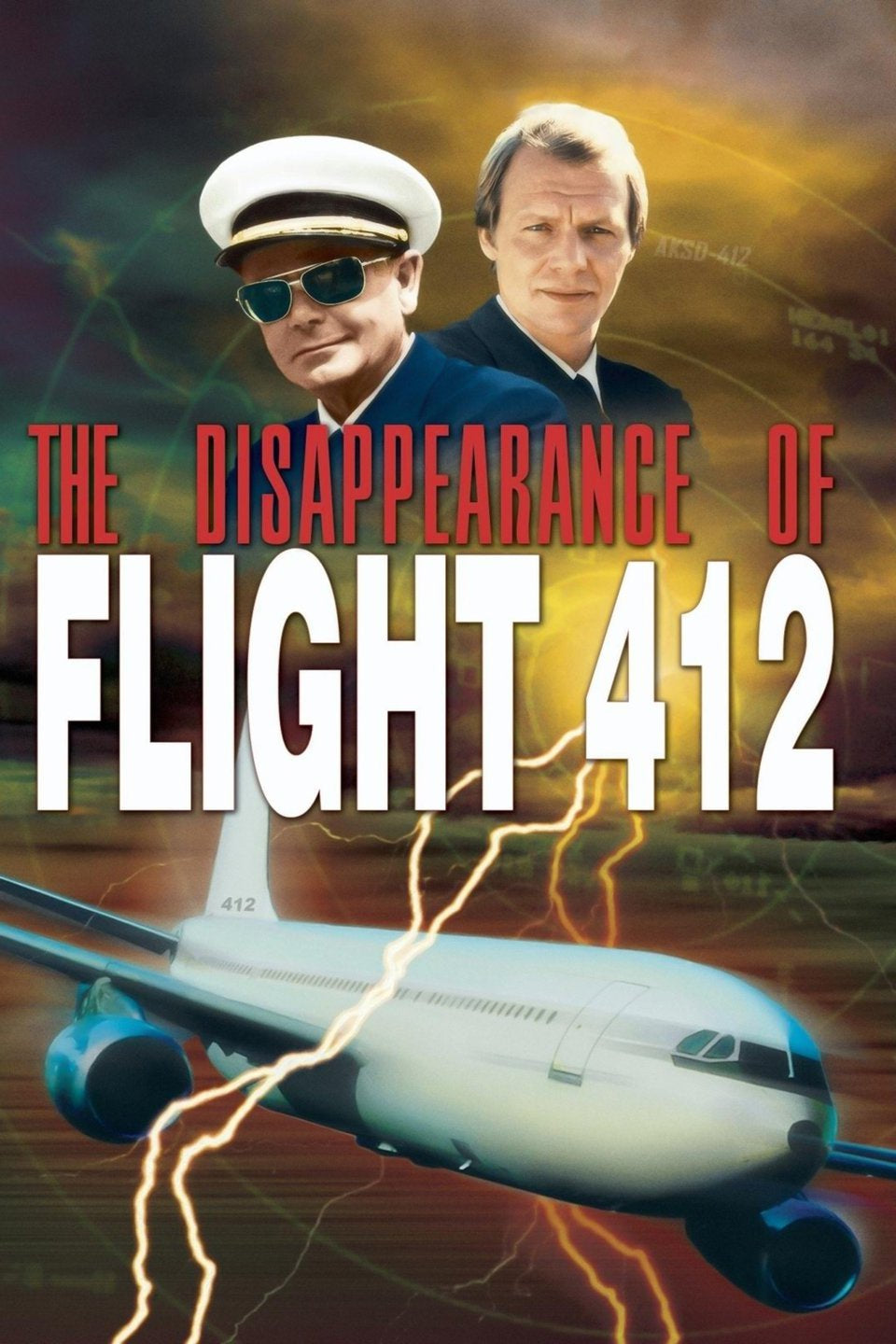 The Disappearance of Flight 412 Dvd (1974)