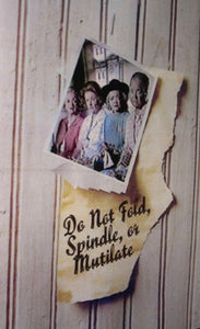 Do Not Fold, Spindle or Mutilate Dvd (1971)