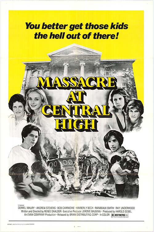 Massacre at Central High Dvd (1976) Rarefliks.com