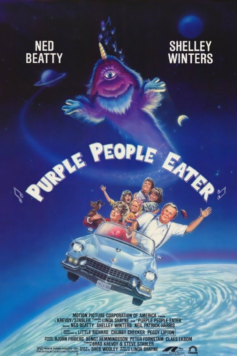 Purple People Eater Dvd (1988)
