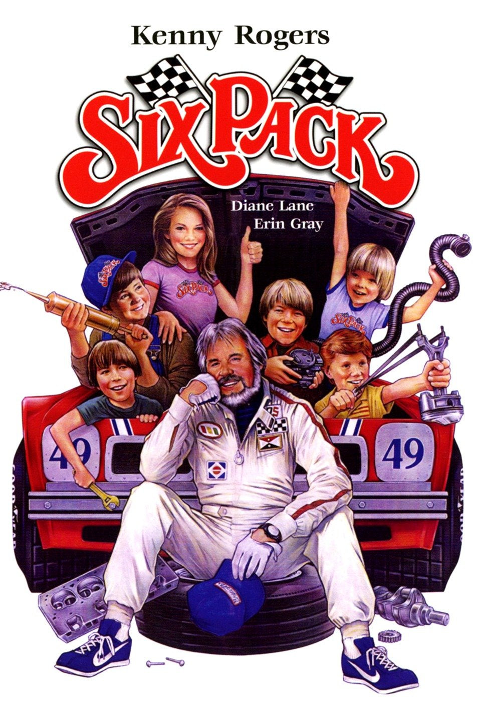 Six Pack  Dvd (1982)