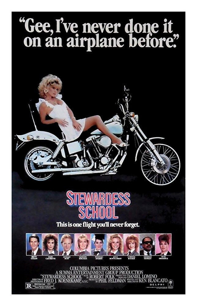 Stewardess School Dvd (1986)Rarefliks.com