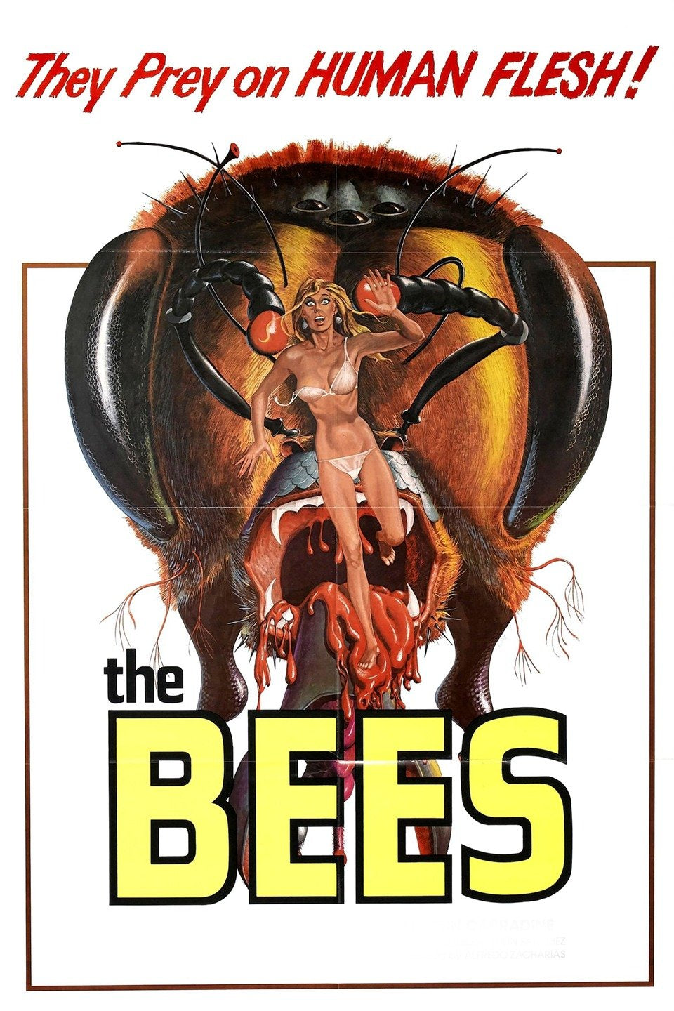 The Bees Dvd (1978)