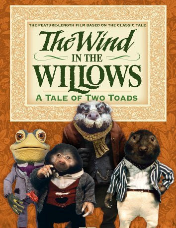 The Wind in the Willows A Tale Of Two Toads Dvd (1989)