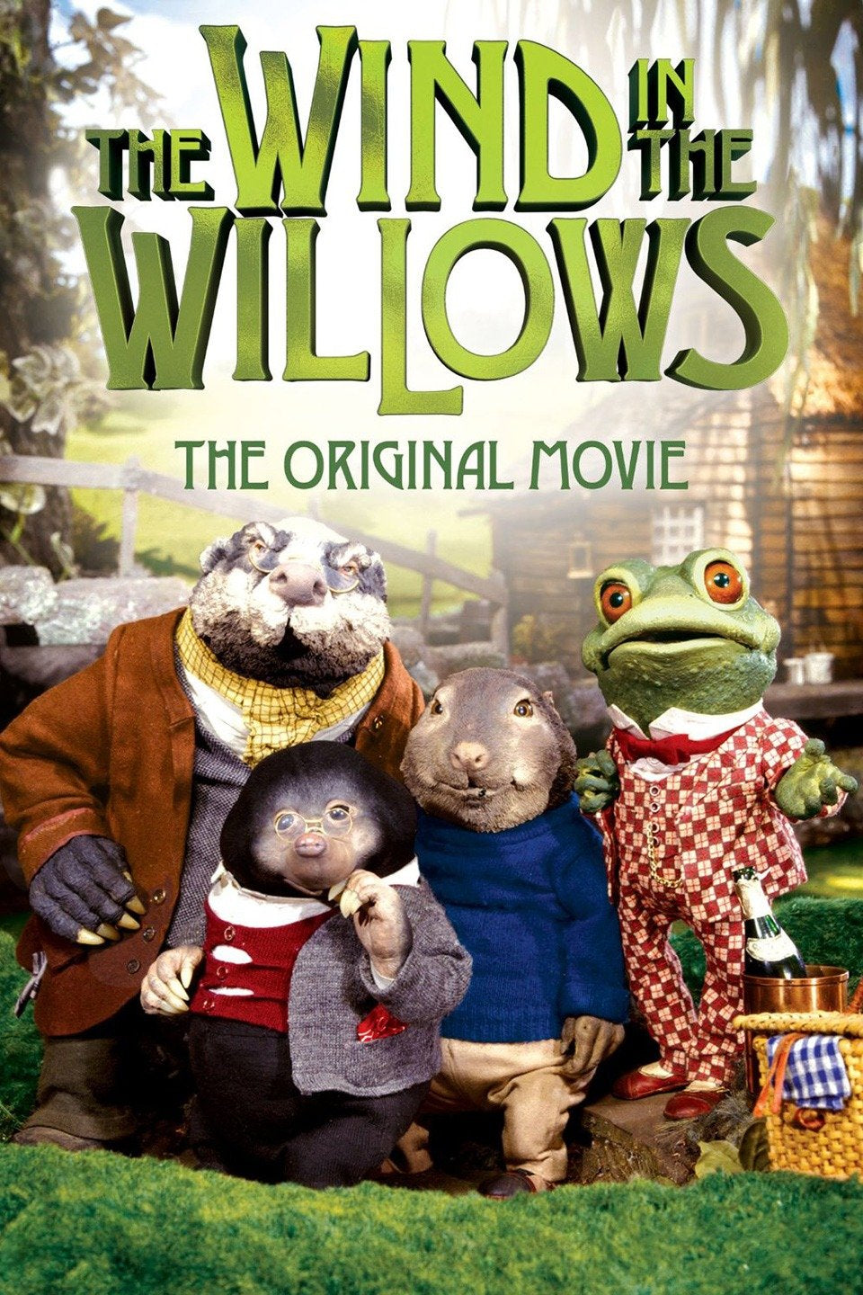 The Wind in the Willows Dvd (1983)