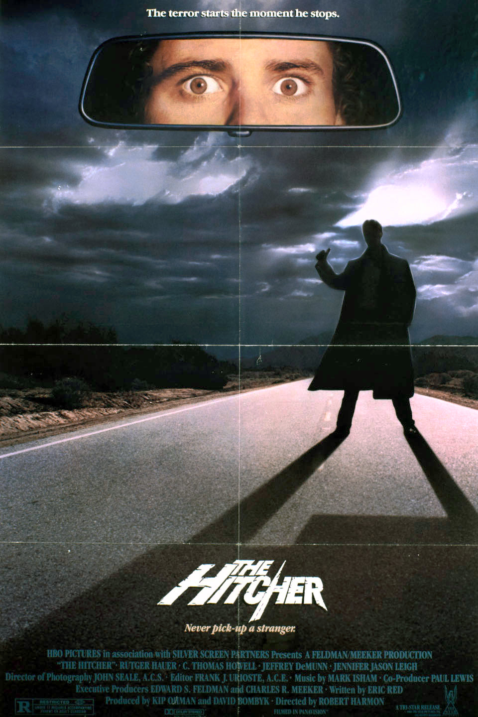 The Hitcher Dvd (1986)