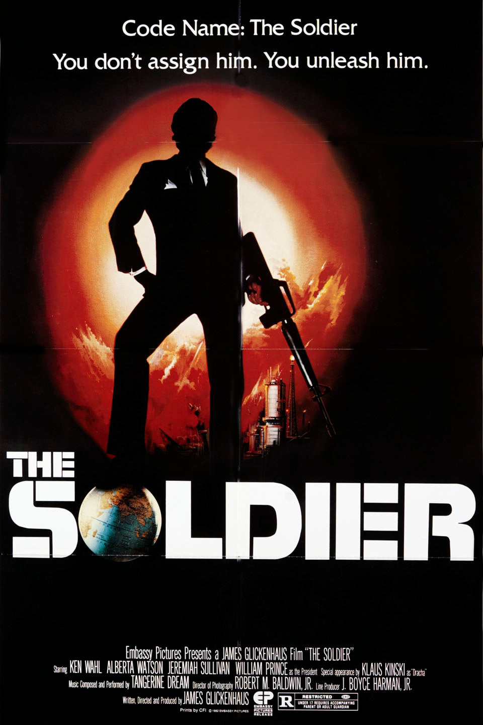 The Soldier Dvd (1982) Rarefliks.com