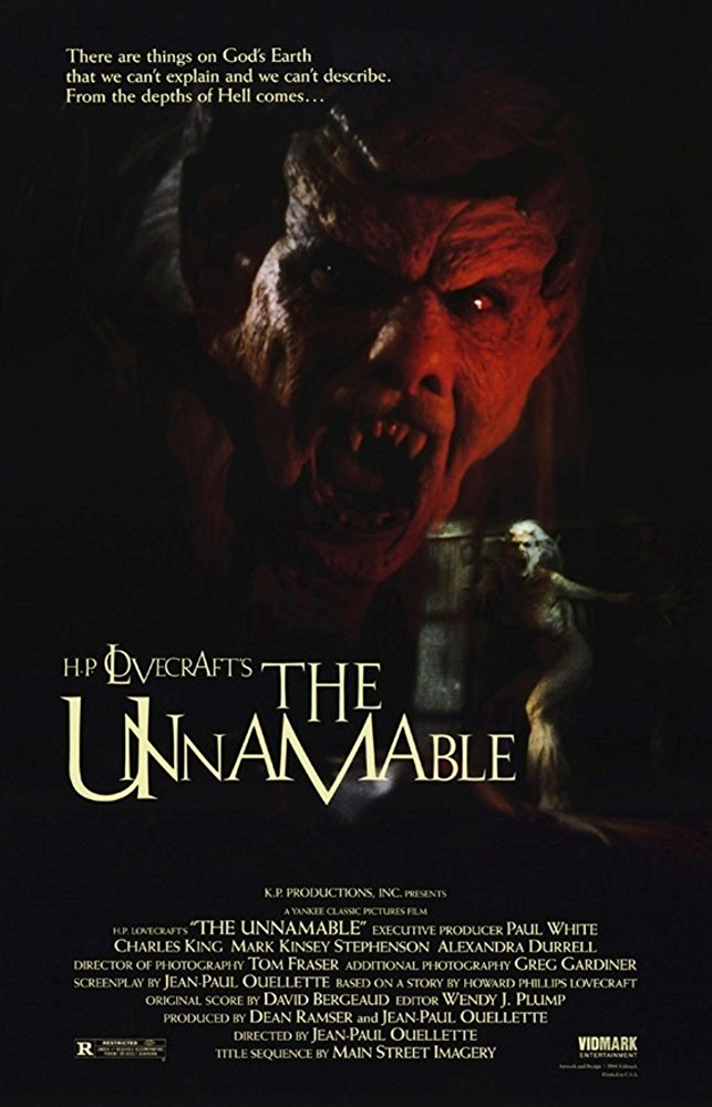 The Unnamable Dvd (1988)Rarefliks.com