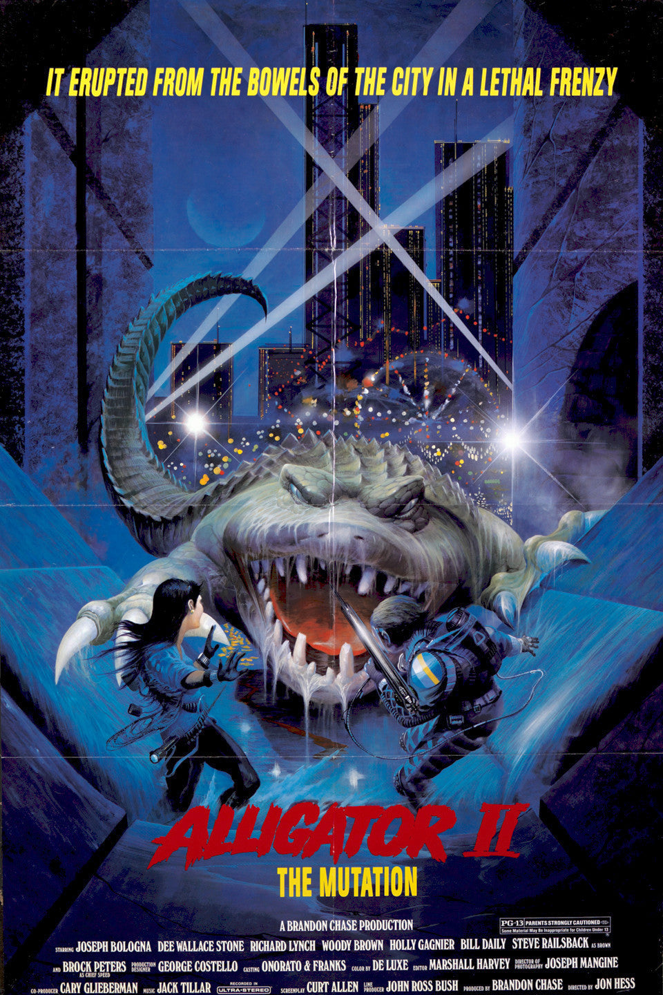 Alligator II: The Mutation Dvd (1991) Rarefliks.com