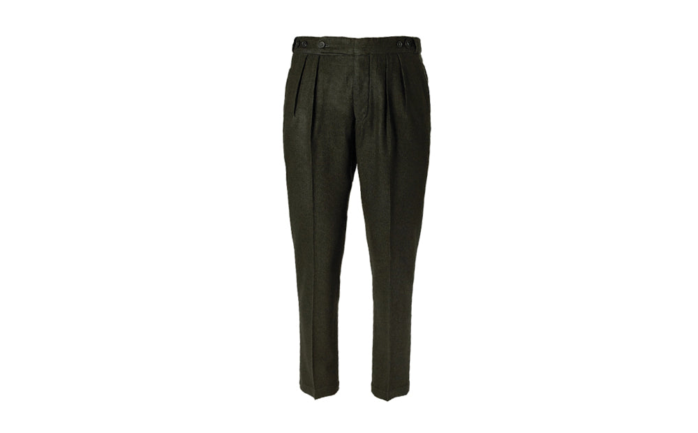 PUPPYTOOTH WOOL TROUSERS