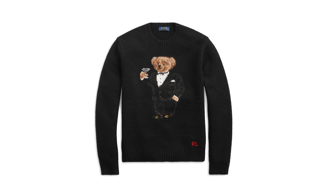 MARTINI BEAR WOOL JUMPER