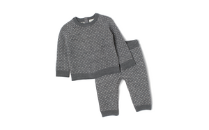 KNIT JUMPER & TROUSERS