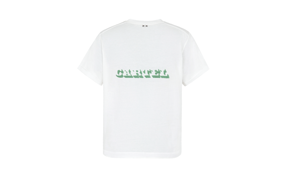 CUSTOM OVERSIZED TEE - WHITE