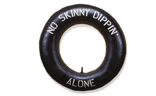 x NO SKINNY DIPPING ALONE