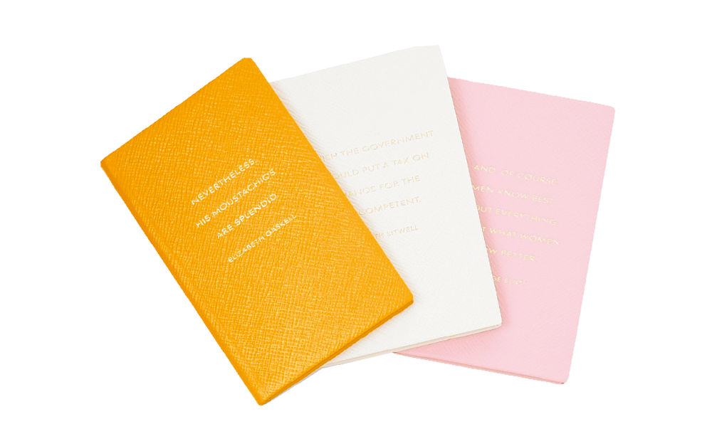 x LEATHER NOTEBOOKS