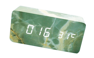 RECTANGLE MARBLE CLOCK