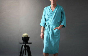 THE GENT'S BATHROBE