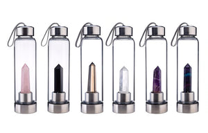 CLEAR QUARTZ CRSTL BOTTLE