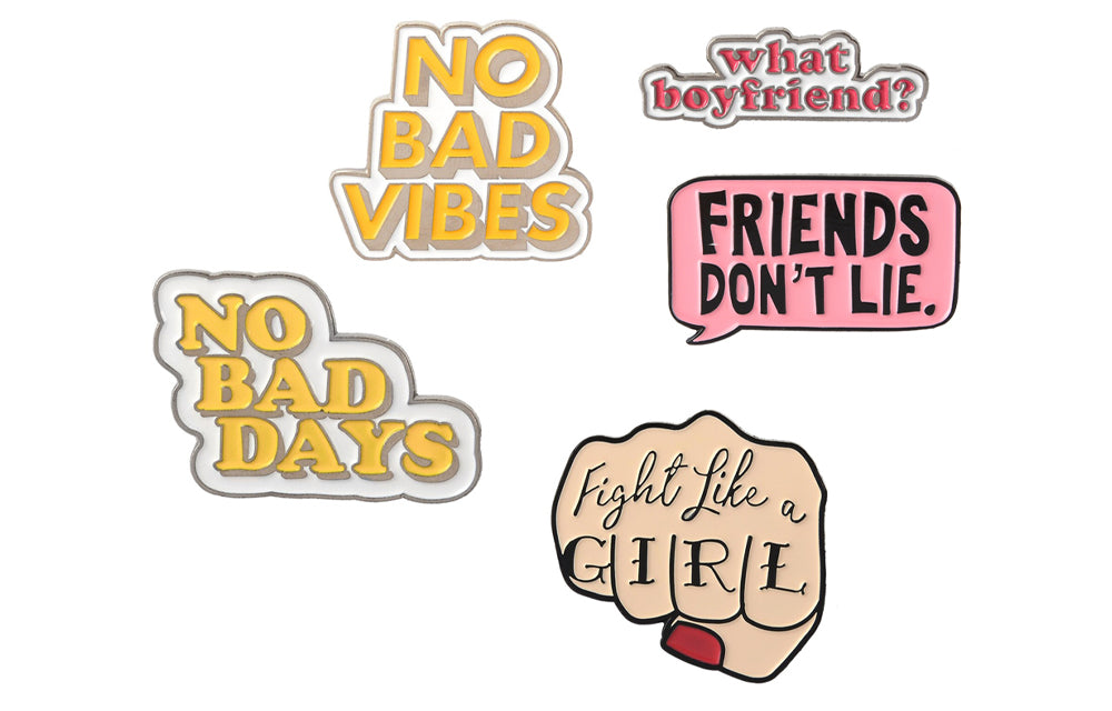 GIRL POWER PINS