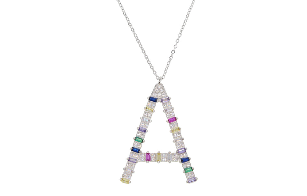 ALPHABET PENDANT NECKLACE
