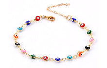 TURKISH EYES ANKLET