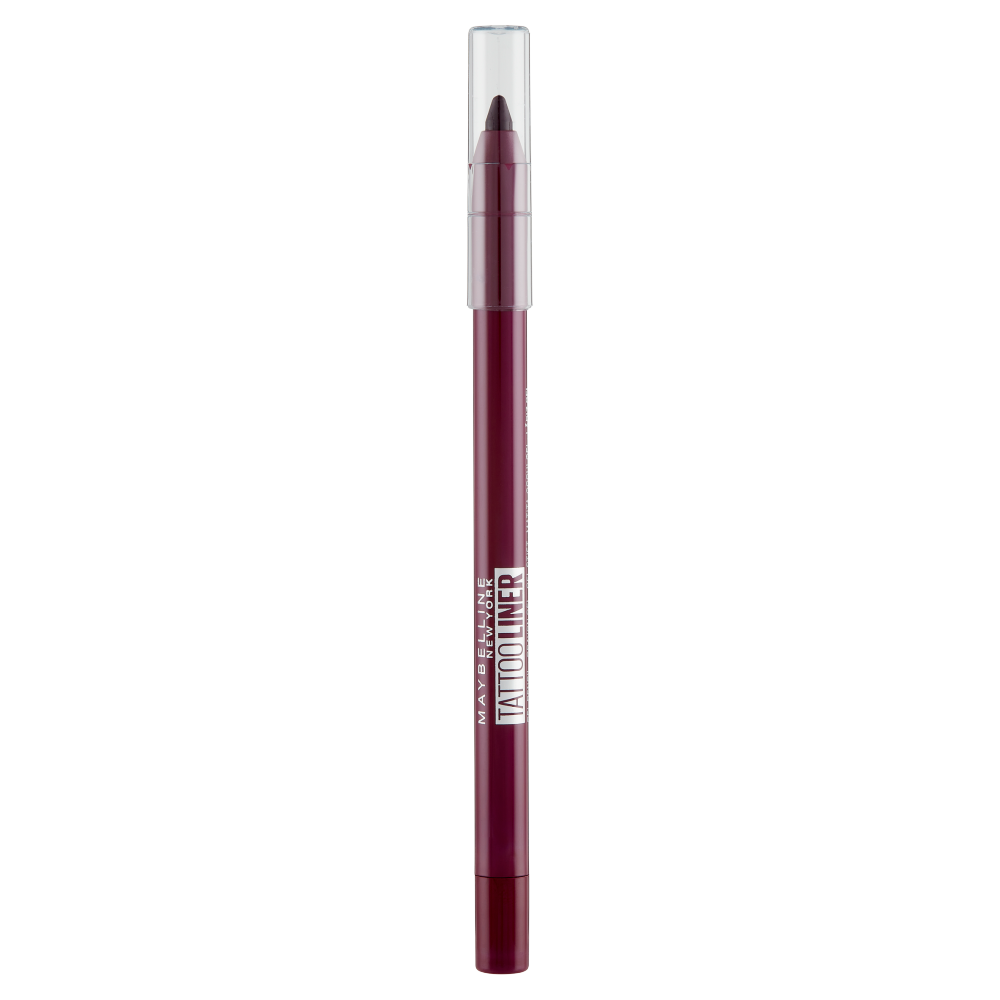 Maybelline New York Matita Occhi Tattoo Liner Gel Pencil, Resiste fino a 36H, 942 Rich Berry