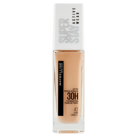 Image of Maybelline New York Fondotinta Liquido SuperStay 30H Active Wear, Fawn (40), 30 ml