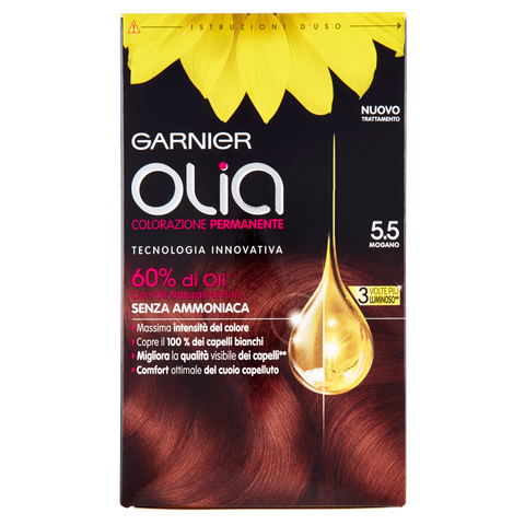 Image of Garnier Olia Colorazione Permanente 5.5 Mogano