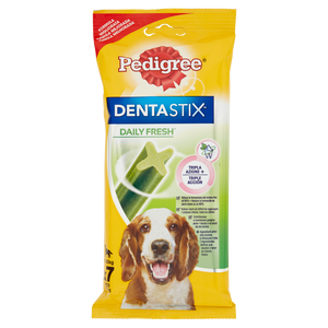 Pedigree DentaStix Daily Fresh* 10-25 kg 7 Pezzi 180 g