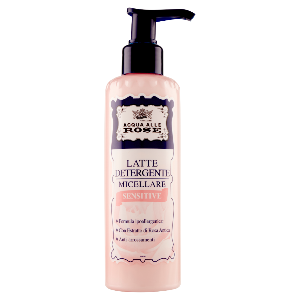 Acqua alle Rose Latte Detergente Micellare Sensitive 200 ml