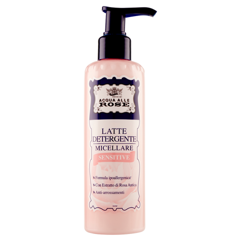Image of Acqua alle Rose Latte Detergente Micellare Sensitive 200 ml
