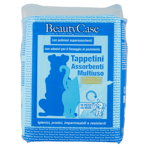 Image of BeautyCase Tappetini Assorbenti Multiuso Luxury 60x60 cm 10 pz