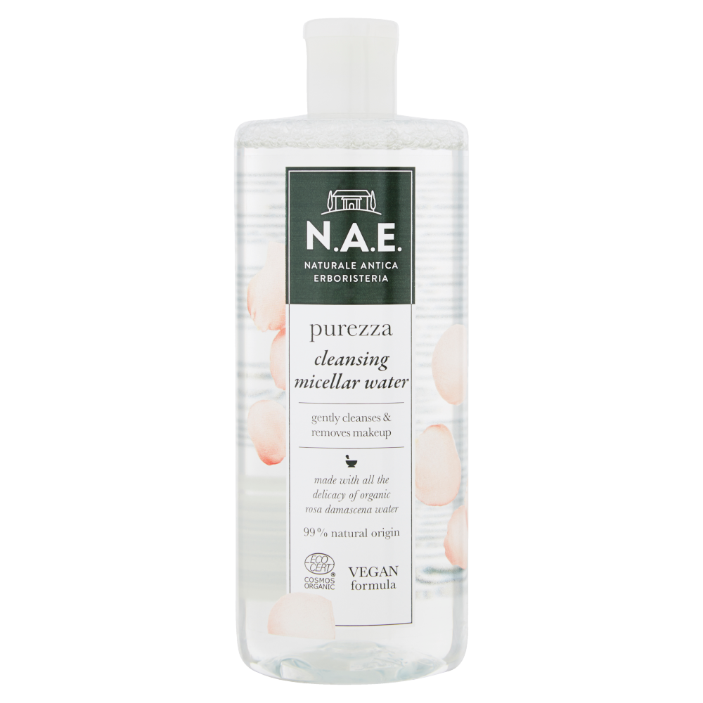 N.A.E. Naturale Antica Erboristeria purezza cleansing micellar water 500 ml