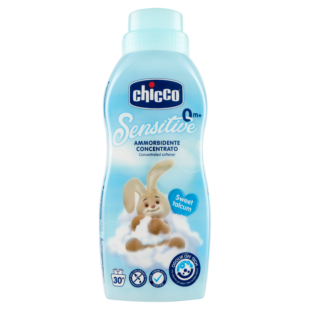 chicco Sensitive 0 m+ Ammorbidente Concentrato Sweet talcum 750 mL