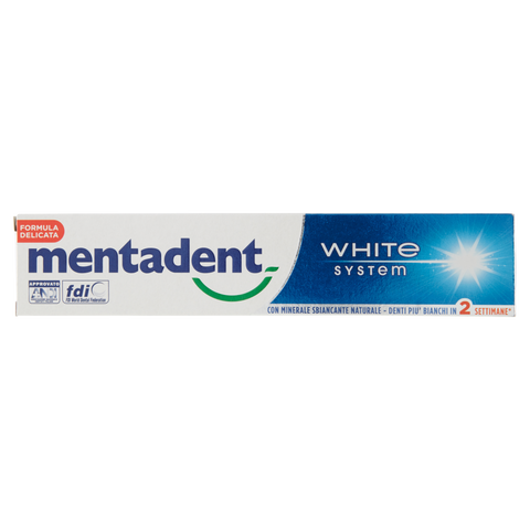 Image of Mentadent White System 75 ml