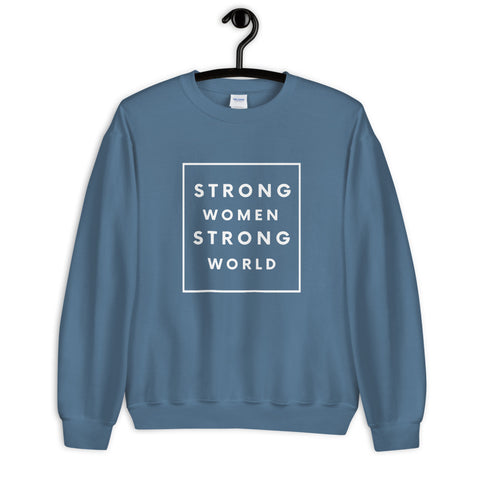 Strong Sweatshirt, Indigo
