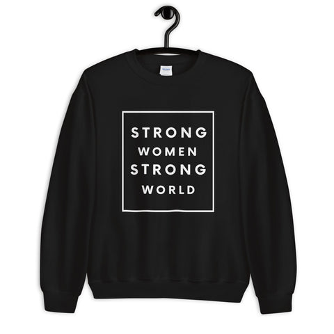 Strong Sweatshirt, Black