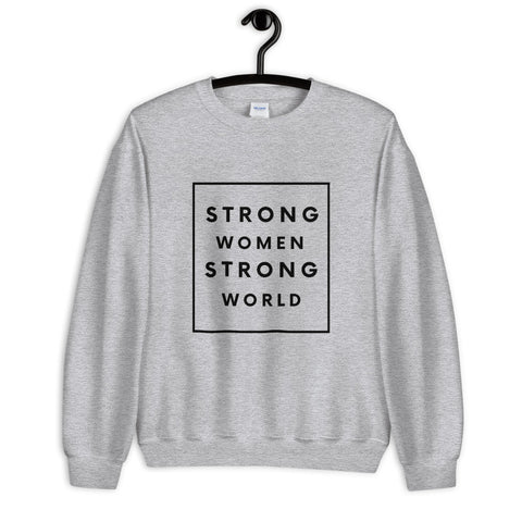 Strong Classic Sweatshirt, Grey