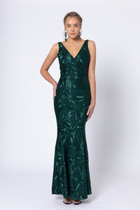 Romance -  Ardour Sequins Maxi Dress