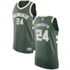 "Pat Connaughton #24 Milwaukee Bucks Hunter Green Fanatics ""Fast Break"" Replica Jersey - Icon Edition"
