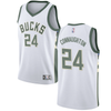 "Pat Connaughton #24 Milwaukee Bucks Fanatics ""Fast Break"" Replica Jersey White - Association Edition"