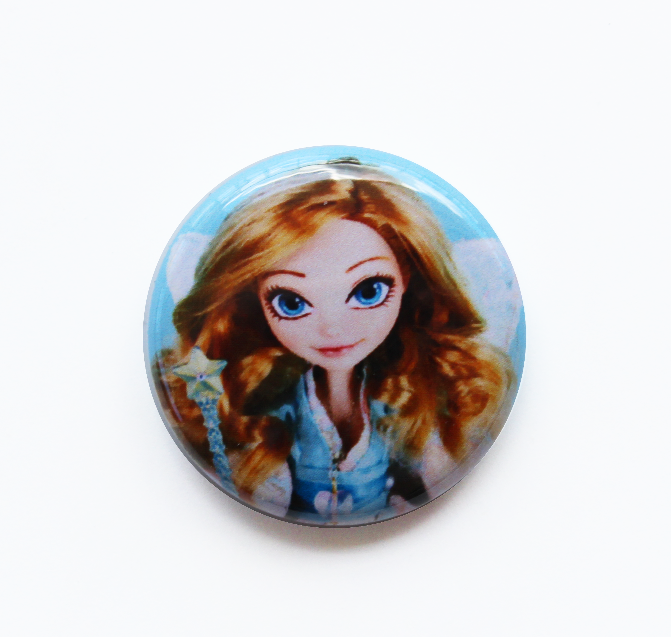 Doll Fairy Mini Button Pin Badge - The Doll Fairy