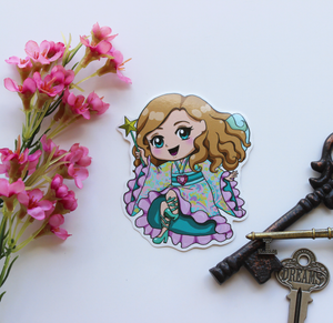 Doll Fairy Chibi Vinyl Sticker - The Doll Fairy