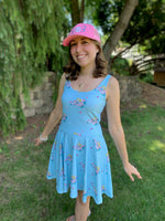 Doll Fairy Floral Skater Dress - The Doll Fairy
