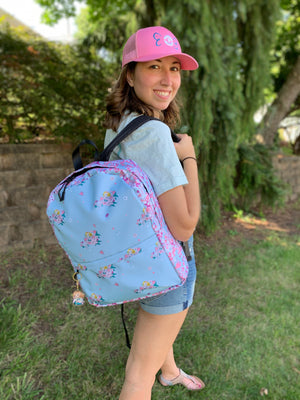 Doll Fairy Tropical Floral Backpack - The Doll Fairy