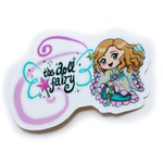 Doll Fairy Logo Vinyl Sticker - The Doll Fairy