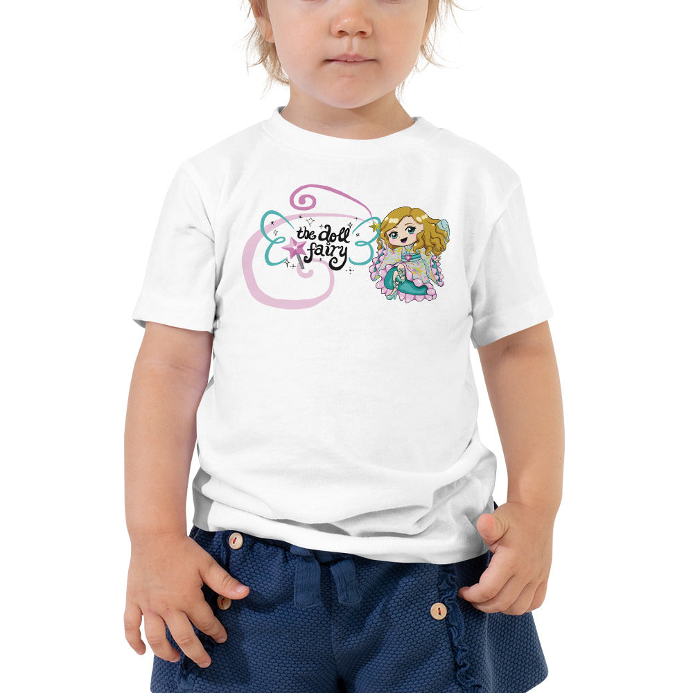 Doll Fairy Wings Toddler Short Sleeve Tee - The Doll Fairy