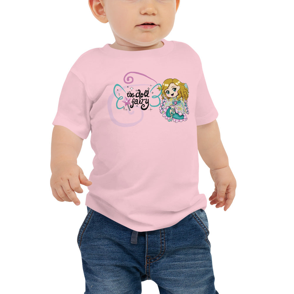 Doll Fairy Wings Baby Jersey Short Sleeve Tee - The Doll Fairy